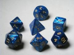 7 Die Set Blue Pearl