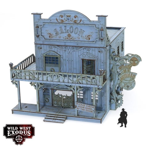 Wild West Exodus Red Oak Saloon