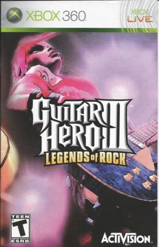 Pink Gorilla LLC - Guitar Hero III: Legends of Rock - Xbox » Xbox