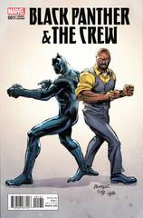 Black Panther & The Crew #1 1:15 Rich Buckler Variant