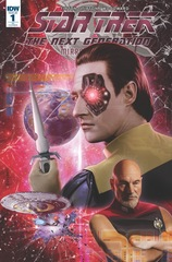 Star Trek Tng Mirror Broken #1 1:10 Joe Corroney Variant