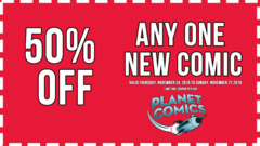 Black Friday New Comic 50% OFF