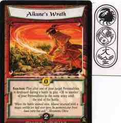 Aikune's Wrath FOIL