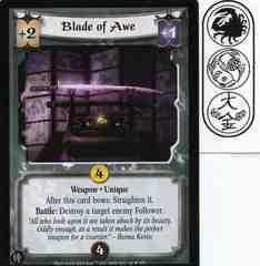 Blade of Awe FOIL