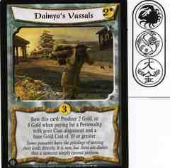 Daimyo's Vassals FOIL