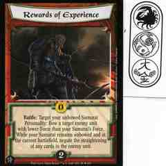Rewards of Experience FOIL