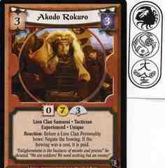 Akodo Rokuro (Experienced)