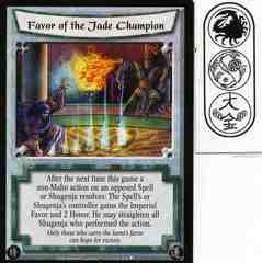 Favor of the Jade Champion