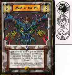 Mask of the Oni