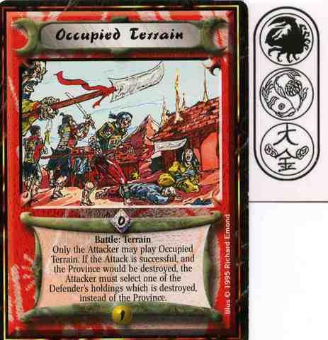 Occupied Terrain