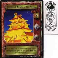The Sacred Temple of the Phoenix - Mon Back