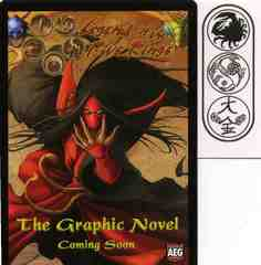 The Graphic Novel Promo card