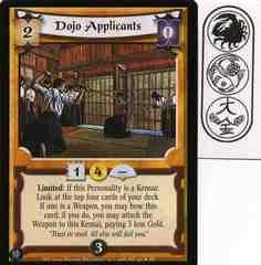 Dojo Applicants FOIL