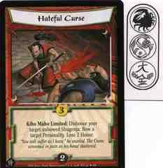 Hateful Curse FOIL