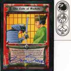 The Code of Bushido SIGNED