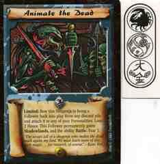 Animate the Dead