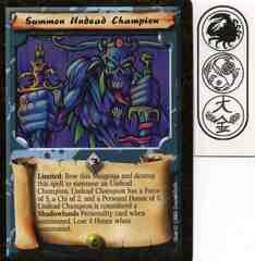Summon Undead Champion