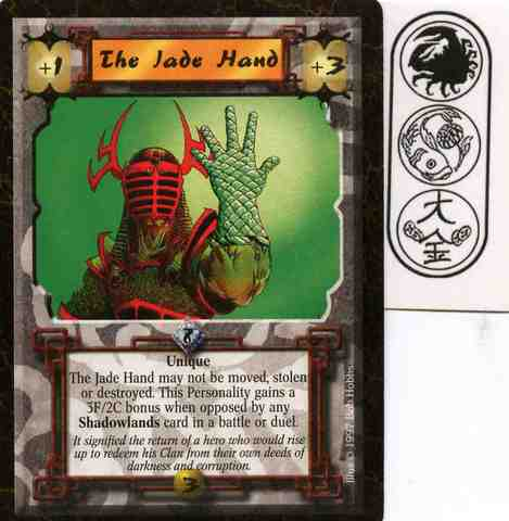 The Jade Hand