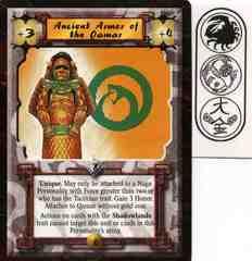 Ancient Armor of the Qamar