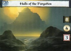 Halls of the Forgotten (Full Bleed Stronghold)