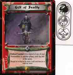 Gift of Fealty