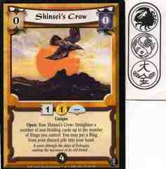 Shinsei's Crow FOIL