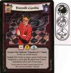 Bayushi Goshiu (Experienced 3)
