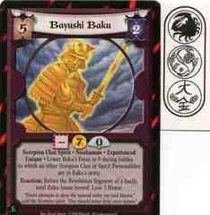 Bayushi Baku (Experienced)
