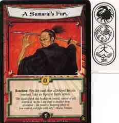 A Samurai's Fury FOIL