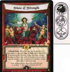 Show of Strength FOIL