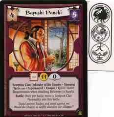 Bayushi Paneki (Experienced) FOIL