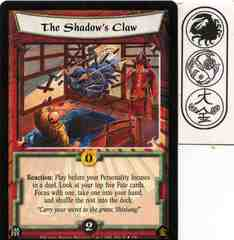 The Shadow's Claw FOIL