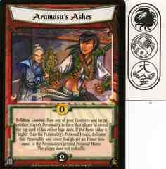 Aramasu's Ashes FOIL