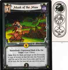 Mask of the Maw (Experienced Mask of the Oni) FOIL