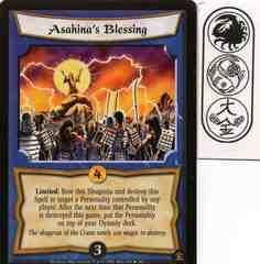 Asahina's Blessing FOIL