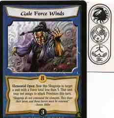 Gale Force Winds FOIL
