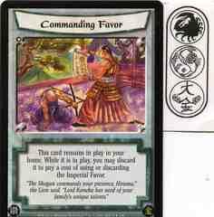 Commanding Favor FOIL