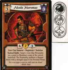 Akodo Moromao FOIL