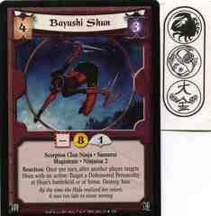 Bayushi Shun FOIL