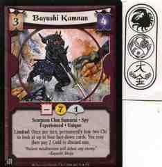 Bayushi Kamnan (Experienced) FOIL
