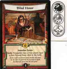 Blind Honor FOIL