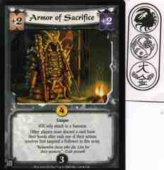 Armor of Sacrifice FOIL