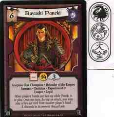 Bayushi Paneki (Experienced 2) FOIL
