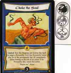 Choke the Soul FOIL