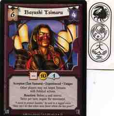 Bayushi Tsimaru (Experienced) FOIL