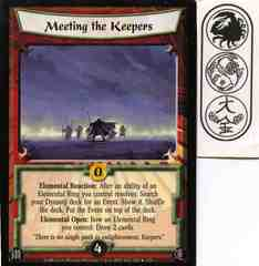 Meeting the Keepers FOIL