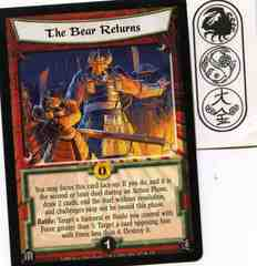 The Bear Returns FOIL