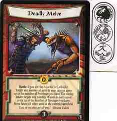 Deadly Melee FOIL