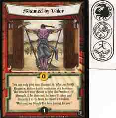 Shamed by Valor FOIL