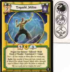 Togashi Mitsu (Experienced 3) FOIL